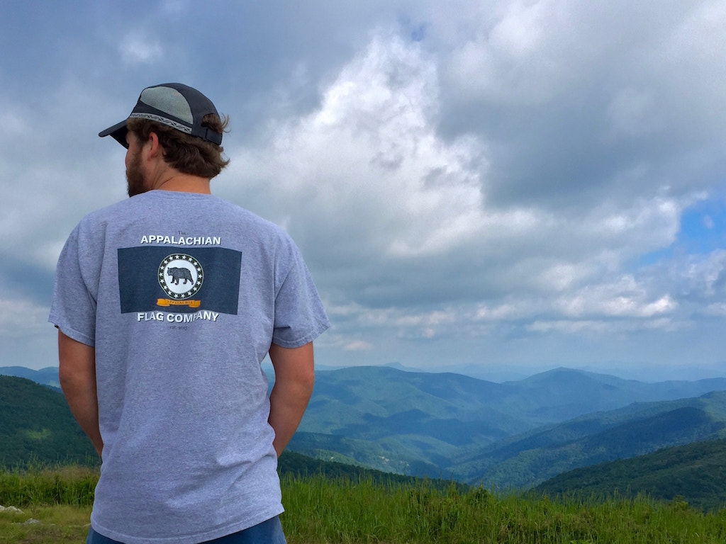 appalachian flag t-shirt